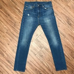 Levi's 510 Skinny Jeans 32x32 Washed Blue